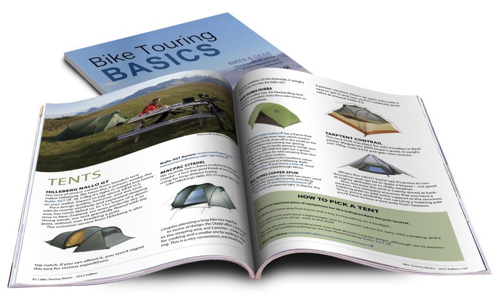 Bicycle Touring Basics eBook